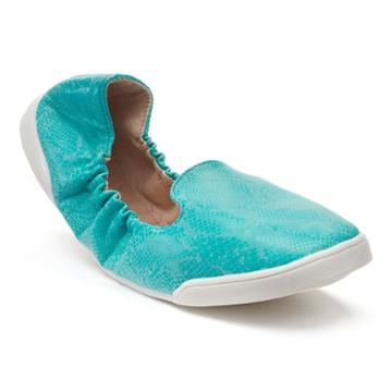 Kruzers By Fitkicks Women's Foldable Sneakers, Size: M 7-8, Turquoise/blue (turq/aqua)
