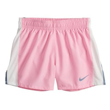 Girls 7-16 Nike Dri-fit Black Running Shorts, Size: Xl, Dark Pink