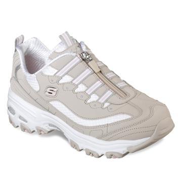 Skechers D'lites Zip Along Women's Sneakers, Size: 9.5, Purple