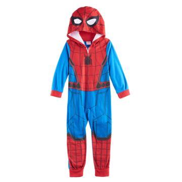 Boys 4-10 Marvel Spider-man Union Suit, Size: 10, Multicolor
