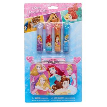 Disney Princess Rapunzel, Aurora & Ariel Girls Lip Gloss Set, Multicolor