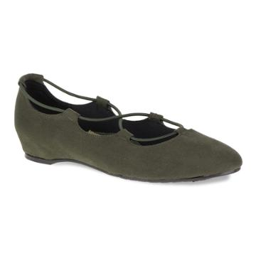 Soft Style By Hush Puppies Colleen Women's Flats, Size: Medium (12), Green