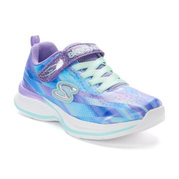 Skechers Jumpin Jams Dream Runner Girls' Sneakers, Size: 12, Blue