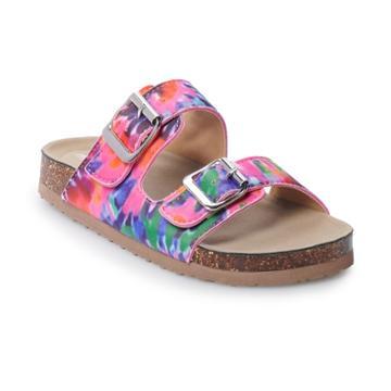 Madden Girl Brianne Girls' Sandals, Size: 3, Tye Dye