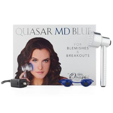 Quasar Md Blue Acne Light Therapy Device, Multicolor