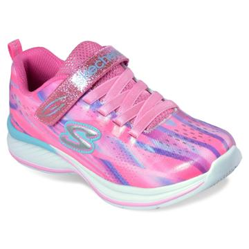 Skechers Jumpin Jams Dream Runner Girls' Sneakers, Size: 13, Orange