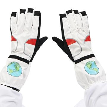 Adult Astronaut Gloves, Men's, Size: Standard, Multicolor