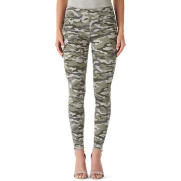 Women's Rock & Republic® Fever Denim Rx™ Pull-on Jean Leggings, Size: 8 Short, Fatigued