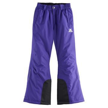Girls 7-16 Zeroxposur Heather Heavyweight Snow Pants, Size: 7-8, Brt Purple