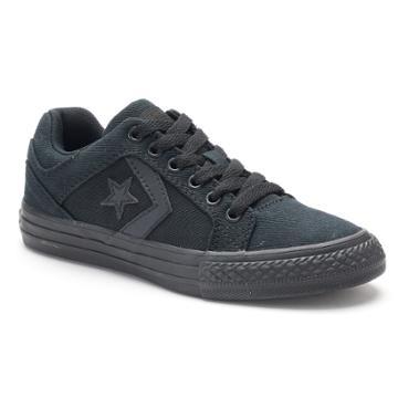 Kid's Converse Cons Distrito Sneakers, Kids Unisex, Size: 2, Black