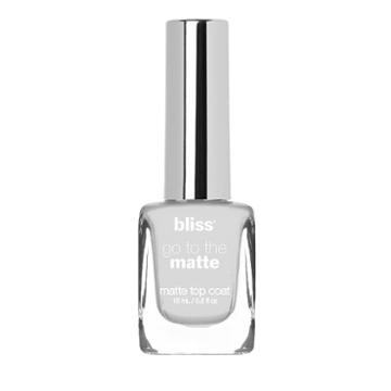 Bliss Go To The Matte Matte Top Coat Nail Polish, Multicolor