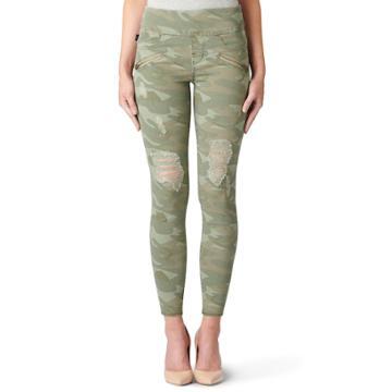 Women's Rock & Republic® Fever Denim Rx™ Pull-on Jean Leggings, Size: 12 Avg/reg, Dirty Diagnosis