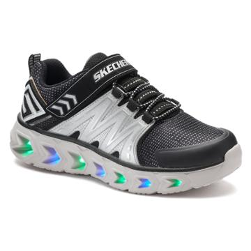 Skechers Hypno Flash 2.0 Light-up Boys' Sneakers, Size: 3, Yellow