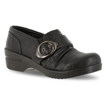 Easy Street Ode Women's Buckle Shoes, Size: 6.5 N, Black