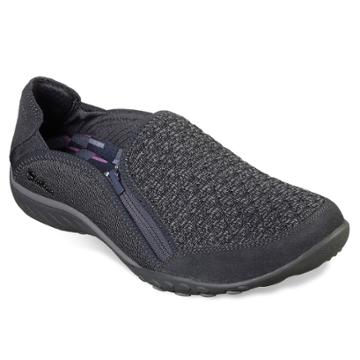 Skechers Relaxed Fit Breathe Easy My Sweet Women's Shoes, Size: 8.5, Dark Grey