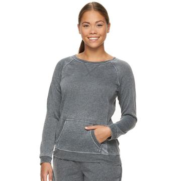 Women's Bliss Eternal Bliss Fleece Top, Size: Small, Grey