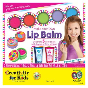 Creativity For Kids Make Your Own Lip Balm Kit, Multicolor