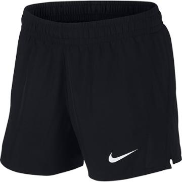 Girls 7-16 Nike Dri-fit Black Running Shorts, Size: Small, Grey (charcoal)