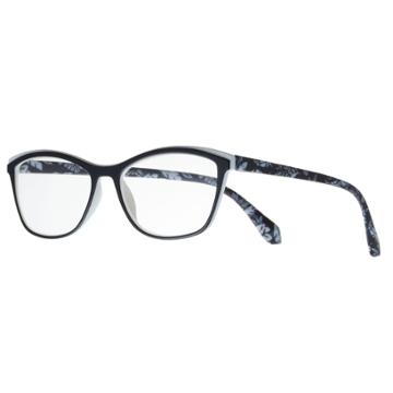 Women's Modera By Foster Grant Meryl Floral Cat-eye Reading Glasses, Multicolor