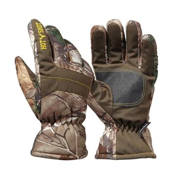 Boys Hot Shot Realtree Camouflage Defender Gloves, Size: S/m, Blue Other