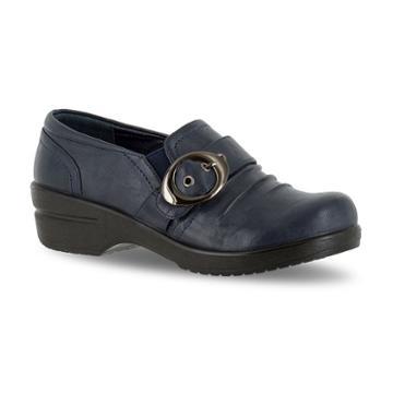 Easy Street Ode Women's Buckle Shoes, Size: Medium (6.5), Blue (navy)
