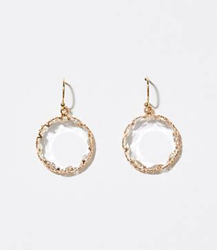 Loft Sparkle Stone Drop Earrings