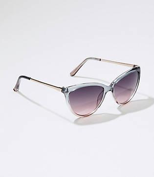 Loft Ombre Cateye Sunglasses