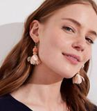 Loft Petal Ball Drop Earrings