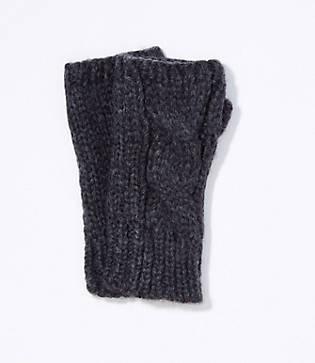 Loft Cable Fingerless Gloves