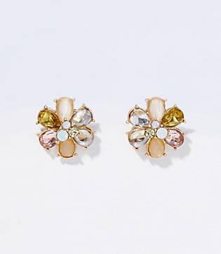 Loft Stone Flower Stud Earrings