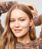Loft Bold Metallic Hoop Earrings