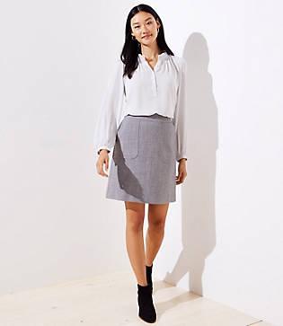 Loft Pocket Shirt Skirt