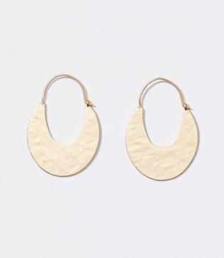 Loft Sleek Hoop Earrings