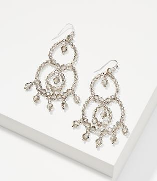 Loft Beaded Chandelier Earrings