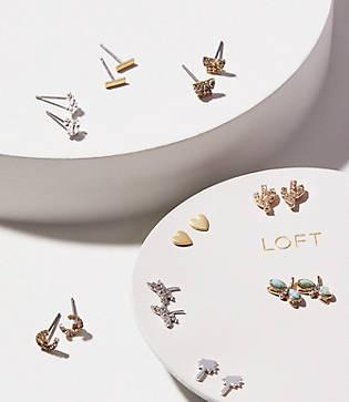 Loft Summertime Stud Earring Set
