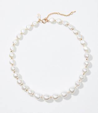 Loft Modern Pearlized Necklace