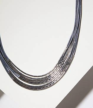 Loft Multistrand Tube Necklace