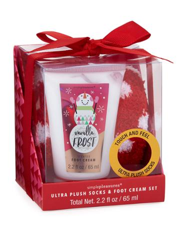 Vanilla Frost Cozy Feet Holiday Gift Set,