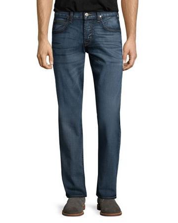 Byron Edges Dark Jeans, Blue