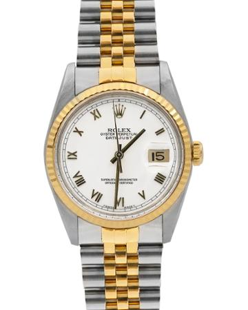 Pre-owned 26mm 18k Datejust Watch, Two-tone