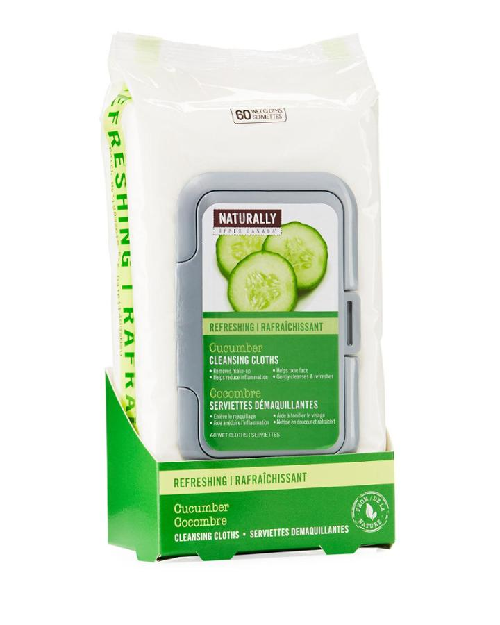 Naturally Cucumber Cleansing Cloths,