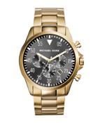 45mm Gage Men's Chronograph Watch, Gold