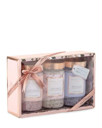 3-piece Bath Salts Set, 3x 12.7 Oz./