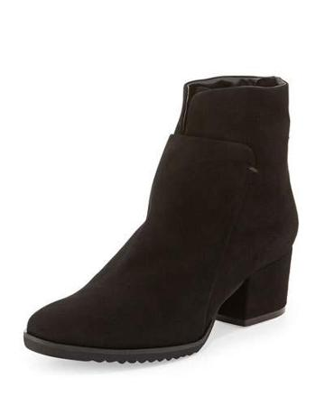 Fraley Comfort Suede Ankle Boot, Black