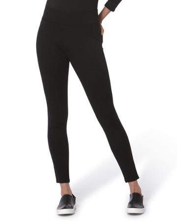 Anna Pull-on Ponte Ankle Pants