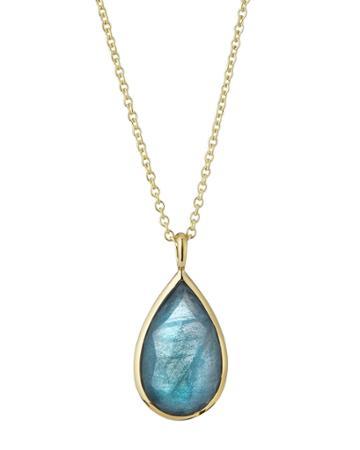 18k Rock Candy® Doublet Teardrop Pendant Necklace