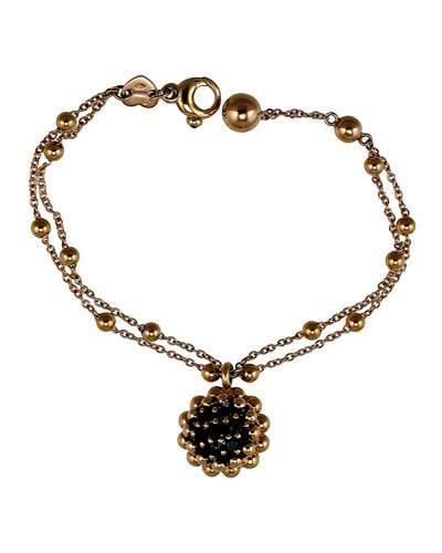 Brunissimi 18k Rose-gold Pendant Necklace, Black