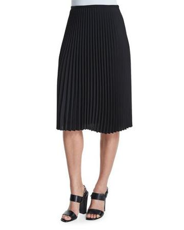 Micro-pleated A-line
