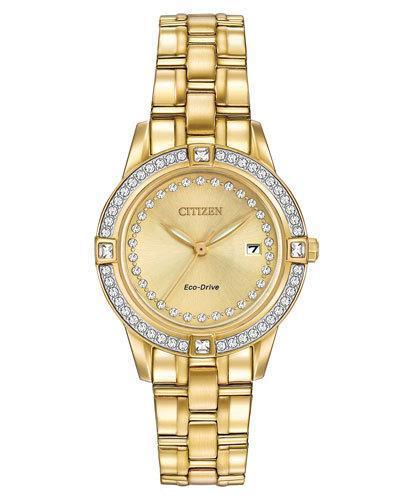29mm Bracelet Watch W/ Crystal Bezel