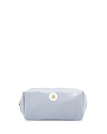 Neiman Marcus Everyday Nylon Cosmetics Kit, Gray